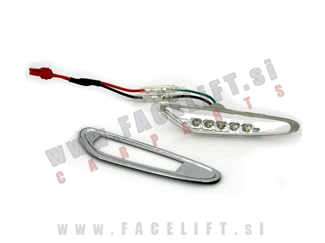 BMW 5 / E60 E61 (03-10) / stranski LED smerokazi / 5x LED