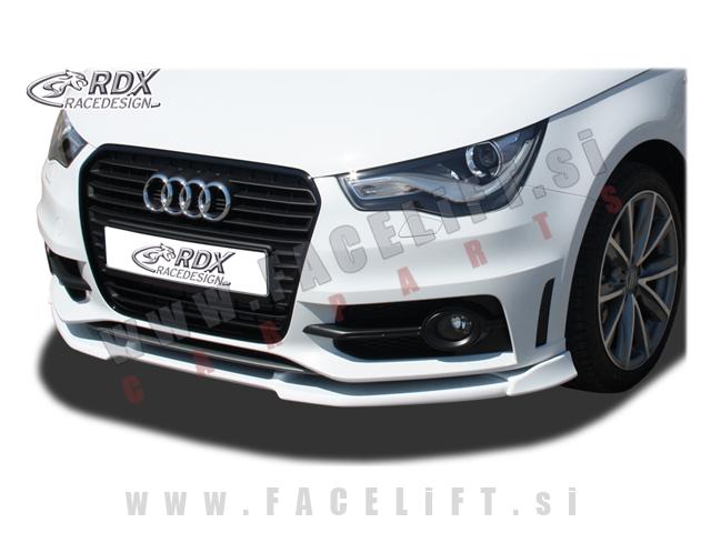 Audi A1 / 8X S-Line (10- ) / podaljšek sprednjega odbijača