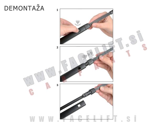 Brisalna metlica / zadaj / BOSCH A282H