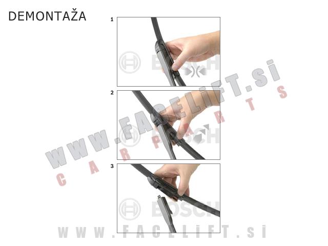 Brisalna metlica BOSCH A280H