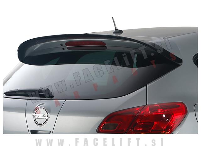 Opel Astra J / (09-15) / strešni spojler