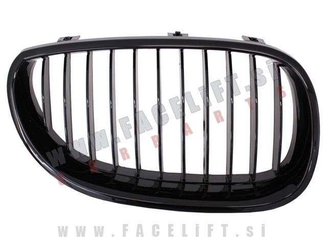 BMW 5 / E60 E61 (03-10) / ledvičke / črne (sijaj)