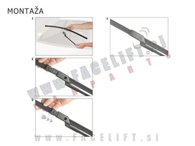 Seat Mii / (12-18) / brisalne metlice Bosch Aerotwin A555S